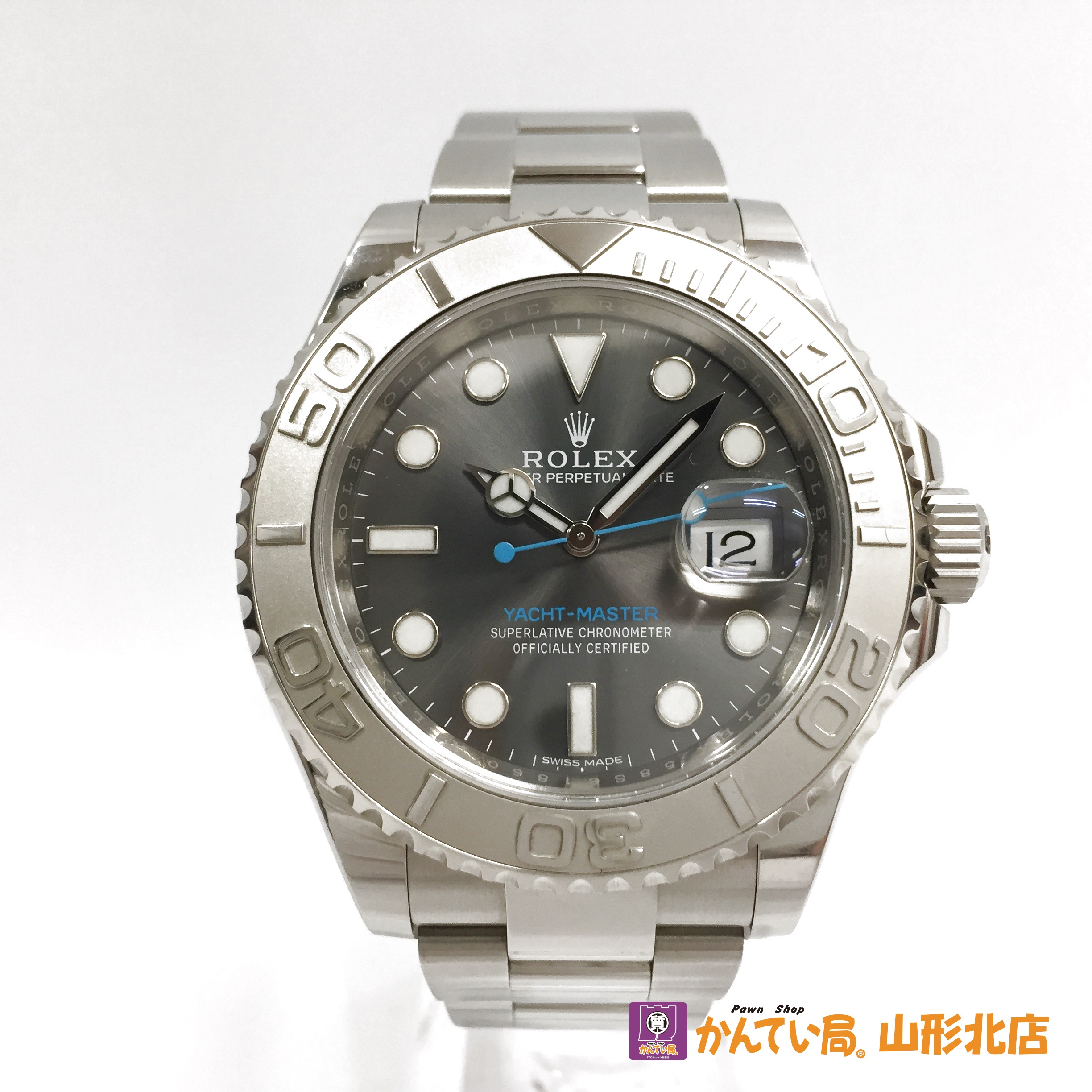 cheap for discount af8ce 313e8 ロレックス ヨットマスター 116622 ダークロジウム 時計 新着 ...
